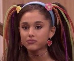 ariana grande and reaction image