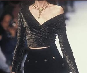 fashion, 90s, and black image