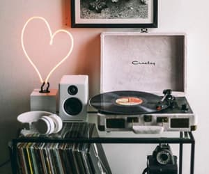music, vintage, and decor image