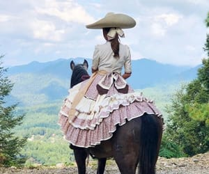 details, sombrero charro, and dress image