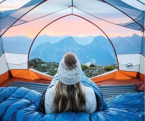 adventure, camping, and colorful image