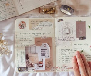 beige, journal, and Nude image
