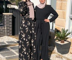 black, dress, and Fleurs image