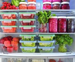 aesthetic, fridge, and fruit image