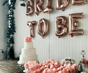 bride, party, and wedding image