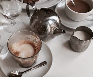 breakfast and coffe image