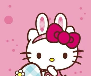 easter, hello kitty, and wallpaper image