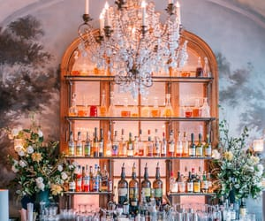 bar and flowers image