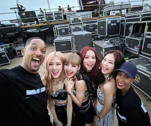 kpop, will smith, and blackpink image