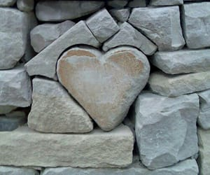 heart, rock, and cute image