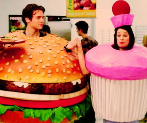 glee, lea michele, and cupcake image