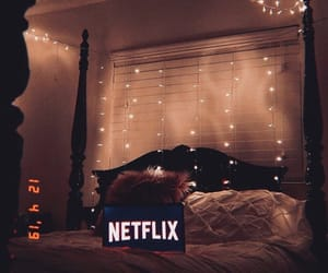 aesthetic, bed, and chill image