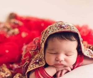 arabic, girl, and baby image