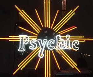 neon, psychic, and signs image