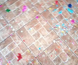 colorful, confetti, and eggs image