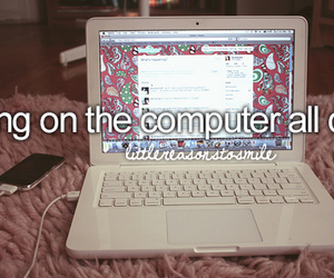 computer and quote image