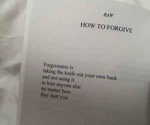 book, forgive, and forgiveness image