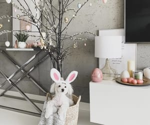 decoration, dog, and easter image