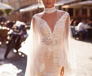 bridal, marriage, and wedding dress image