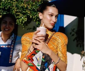 bella hadid, model, and photoshoot image