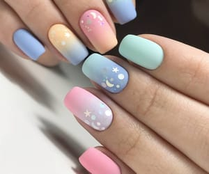 easter, nails, and spring image
