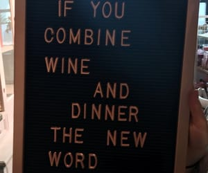 dinner, wine, and winner image