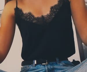 fashion, singlet, and cute outfit image