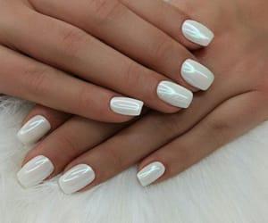 nails, white, and nailedit image