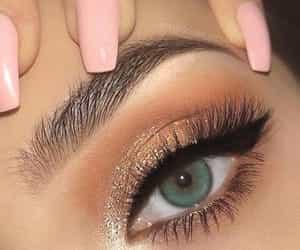 eyes and green eyes image