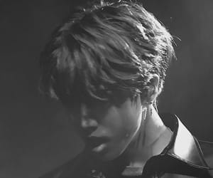 black and white, skz, and j.one image