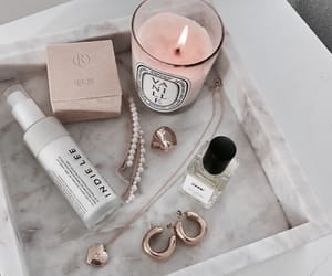 accessories, candle, and cosmetics image