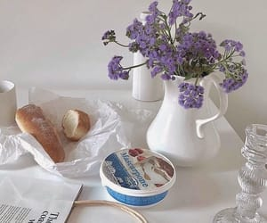 flowers, aesthetic, and food image