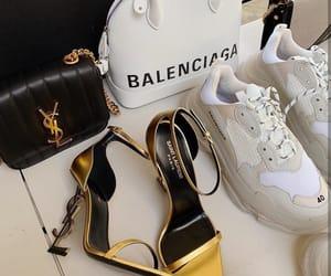 Balenciaga, saint laurent, and gold image