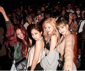 blackpink, rose, and lisa image