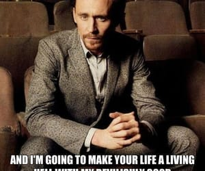 handsome and tom hiddleston image
