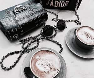 fashion, coffee, and chanel image