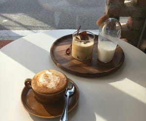 coffee, food, and milk image