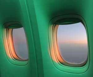 green, alternative, and airplane image