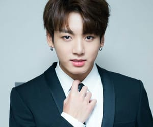 suit, jk, and jungkook image