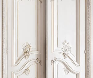 door, white, and aesthetic image