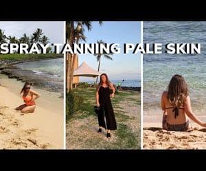 video, vlog, and spray tan image