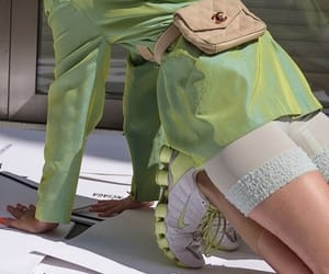 green, fashion, and chanel image