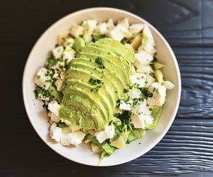 avocado, cheese, and fitness image