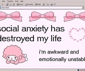aesthetic, pink, and sad image