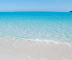 bahamas, beach, and blue image
