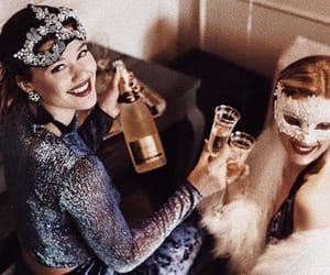 beautiful, beauty, and champagne image