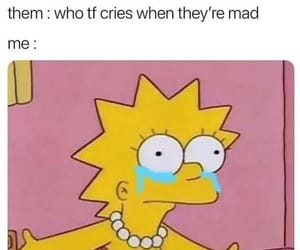 meme, funny, and simpsons image