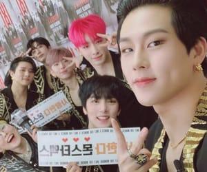 idol, hyungwon, and shownu image