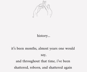 history, minimalism, and poem image