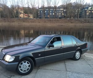 mercedes benz, s class, and mercedes w140 image